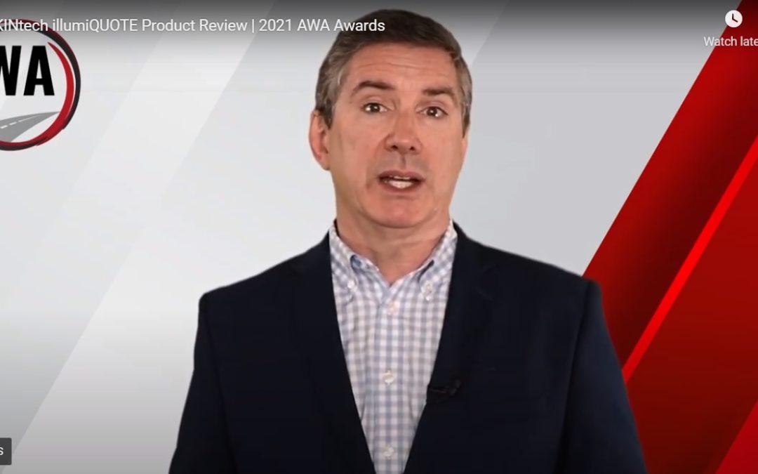 FRIKINtech Wins the Disruptor Award at 2021 AWAs